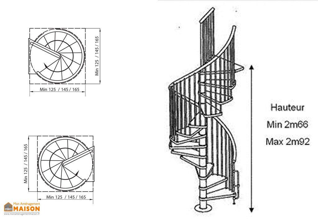 Escalier Colimaçon en Hêtre Cyva