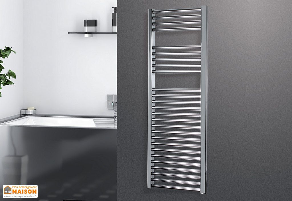 sèche-serviettes hydraulique design Zeta