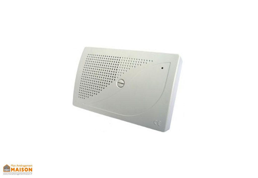 Sirène Intérieure 110/103dB en ABS Blanc