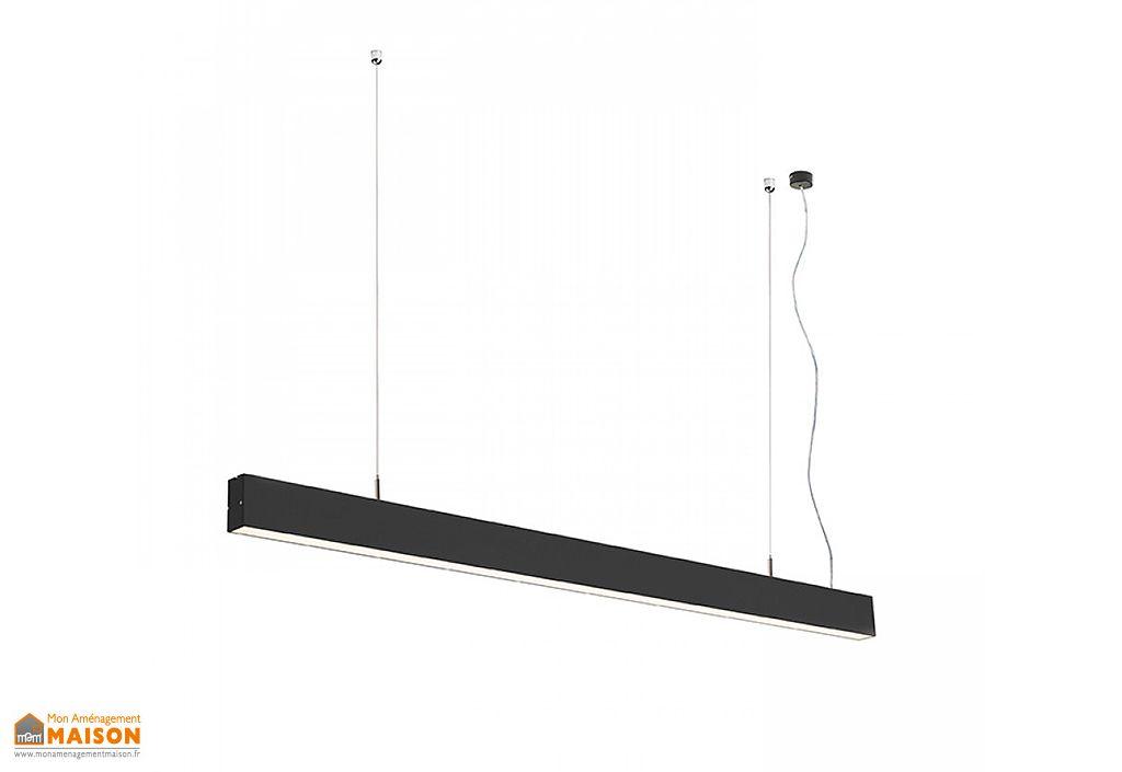 Suspension LED Rendl Light Studio Pesante 35 Noir