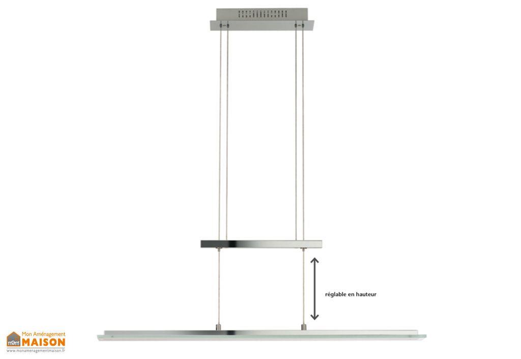 Lampe Suspension LED 4,5W Chrome