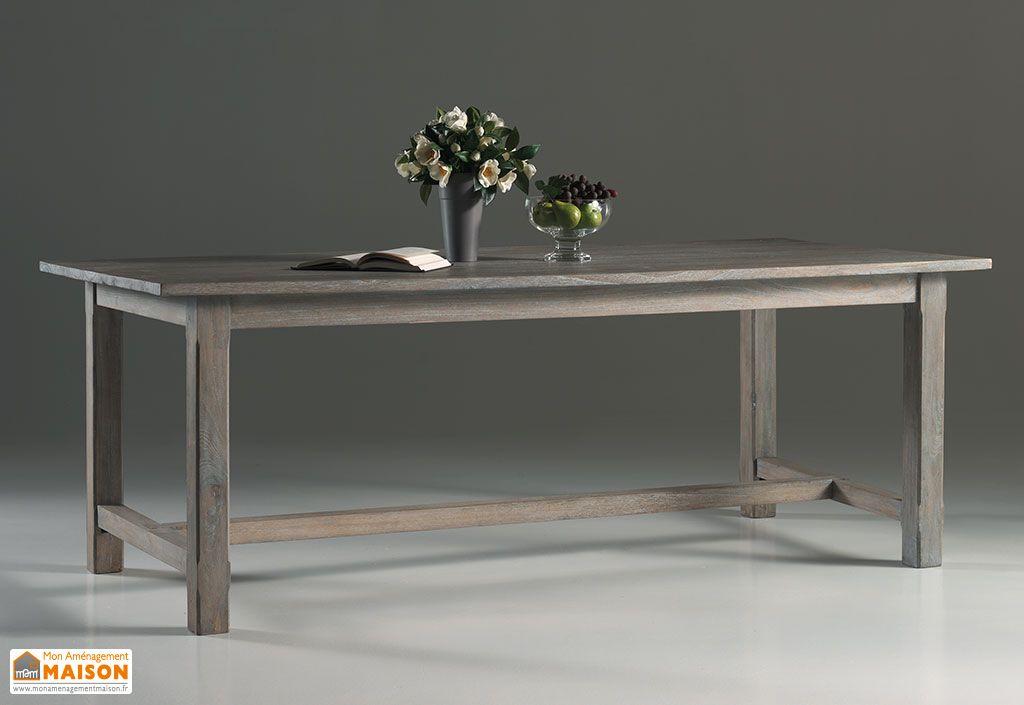 Table Rectangulaire en Mindi Gris Bellona