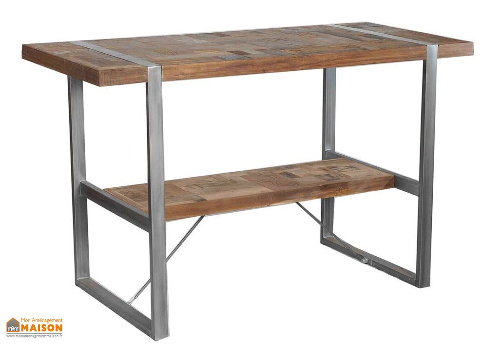 Table de Bar en Teck Ocean (180x80x110cm)