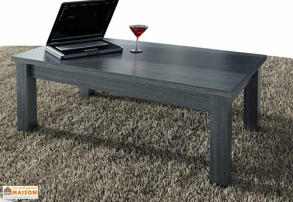 Table Basse Vérone 100x50x42cm Grise