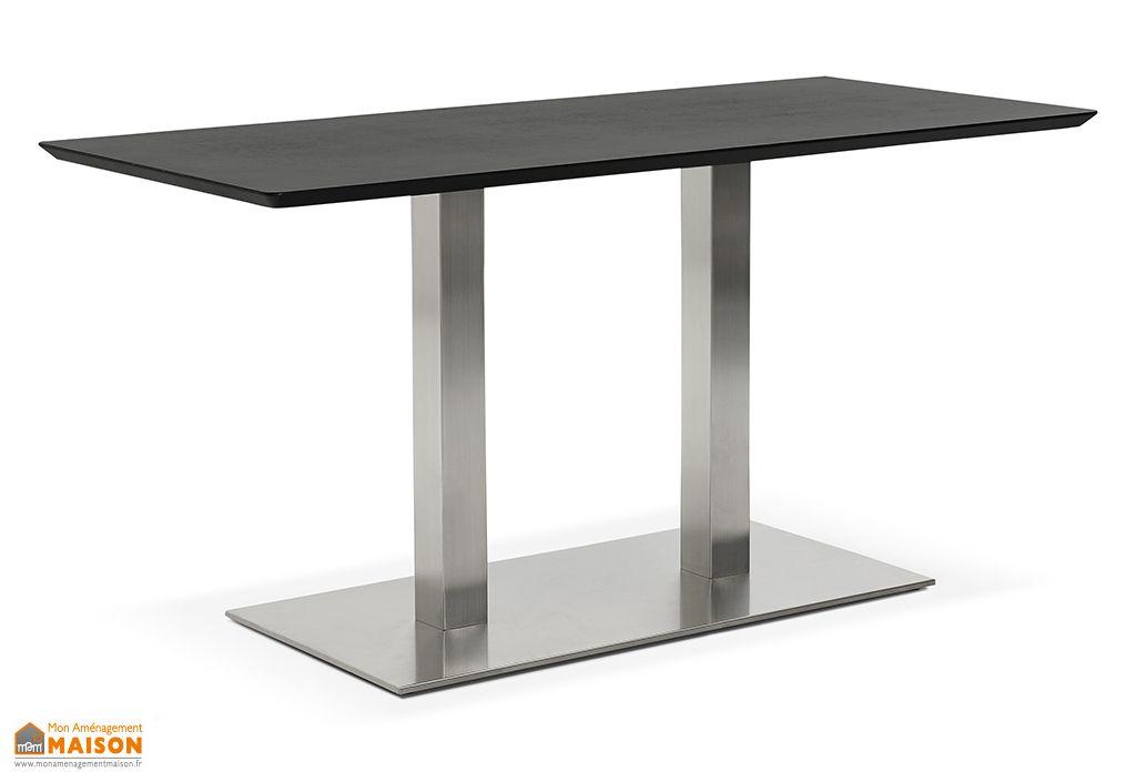 Table à Manger Design Kokoon Design Recta Noir