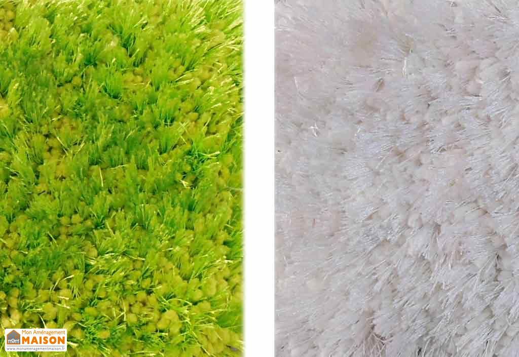 Tapis en Polyester Lowland 140x200 (7 coloris)