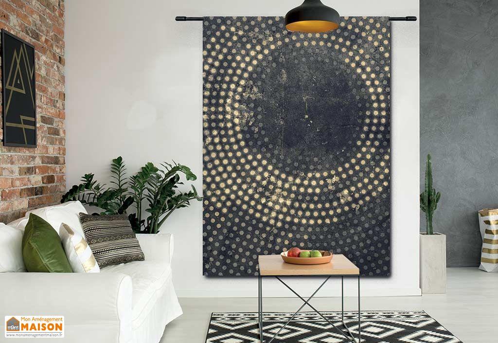 Tenture Murale Design en Coton Bio Cala