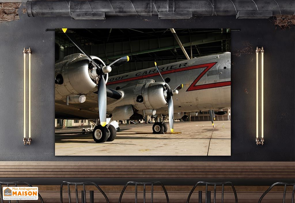 Tenture Murale Design en Coton Bio 145x190cm Spirit of Freedom