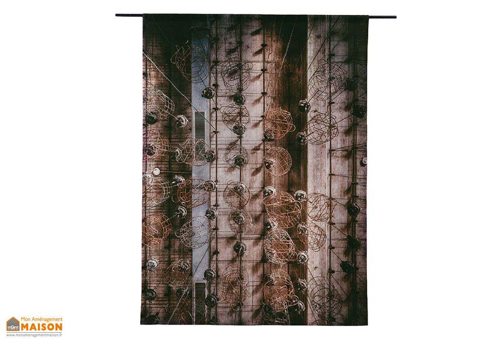 Tapisserie Murale Coton Bio 145x190cm Hanging Baskets