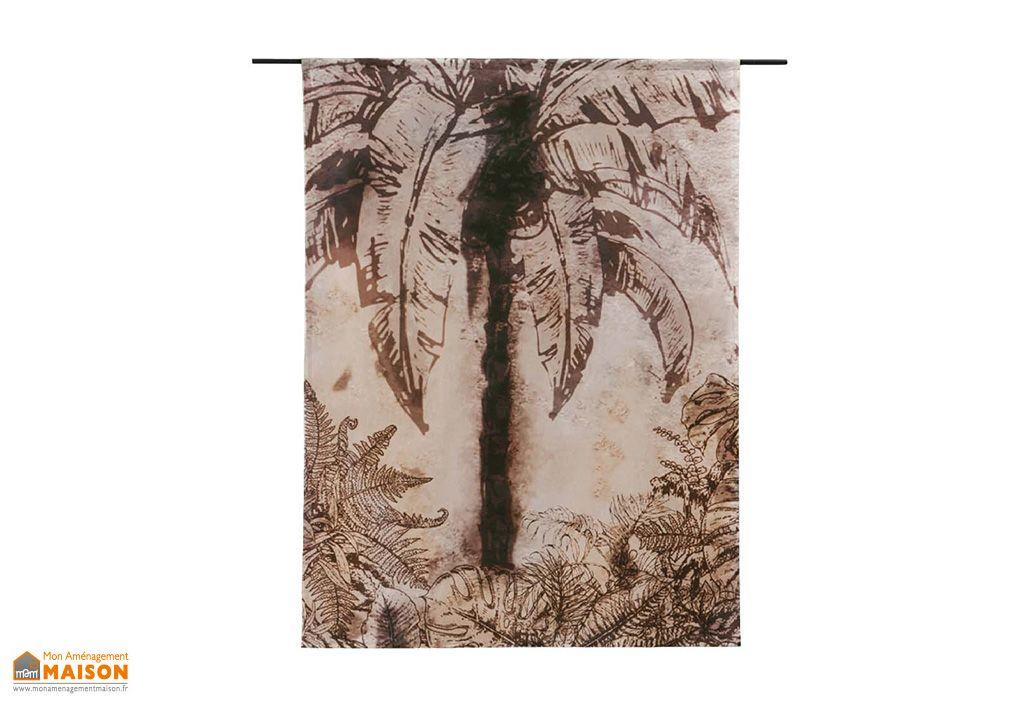 Tenture Murale Design en Coton Bio Urban Jungle