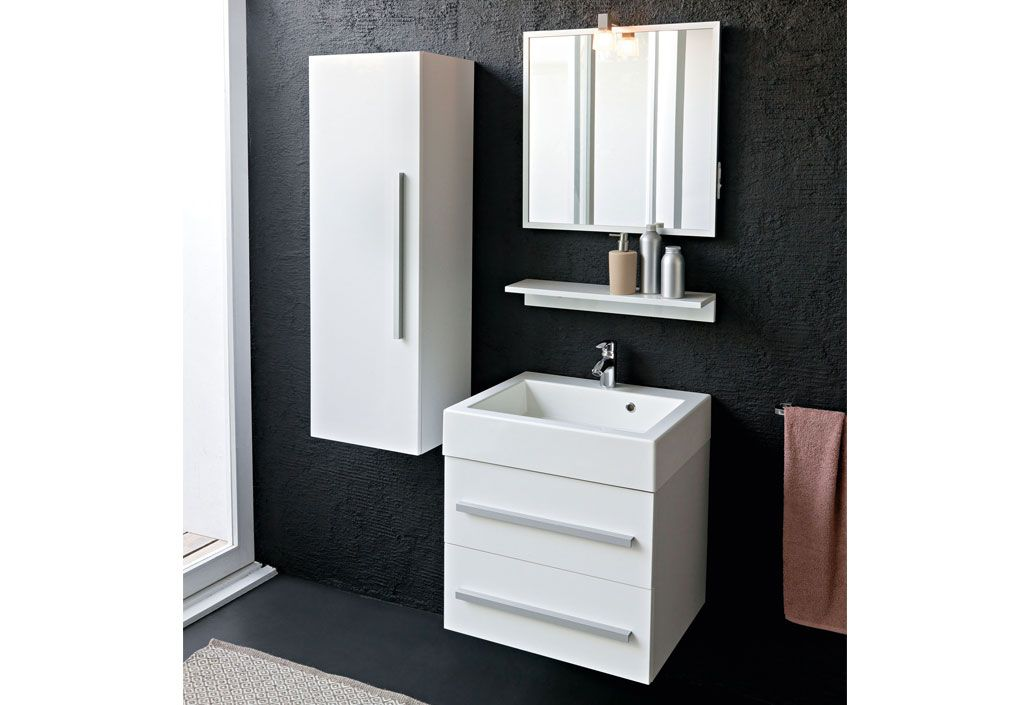 Meuble de salle de bain tia 60 kolpa for Meuble salle de bains but